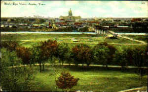 Bird's Eye View--Austin, Texas, 1911